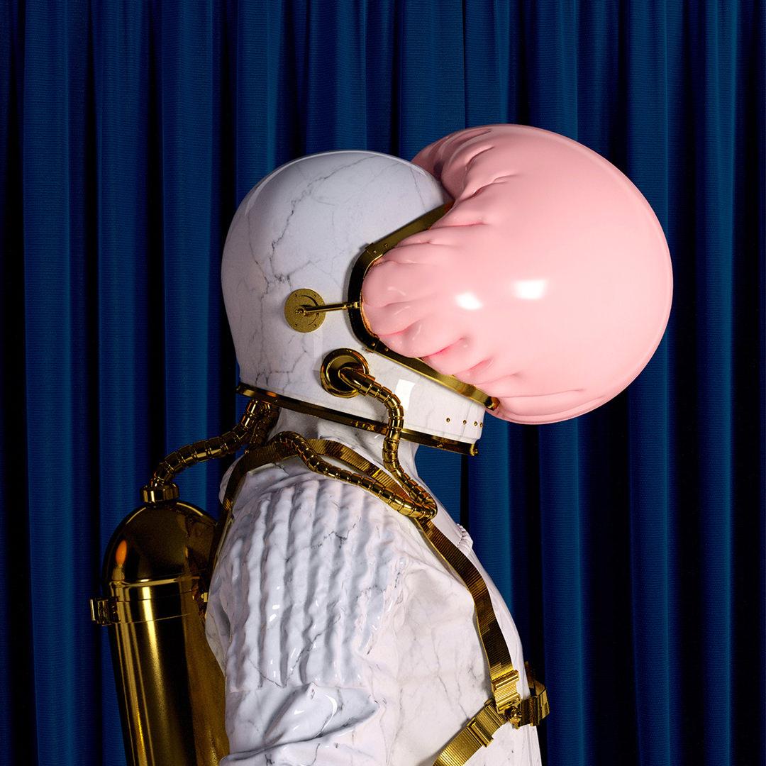 design-motion-3d-photography-octane-redshift-art-visual-animation-render-style-graphic-digitalart-gold-pink-marble-pop-glamour-fashion-setdesign-3dart-federicopicci-stash-magazine-astronaut-cover
