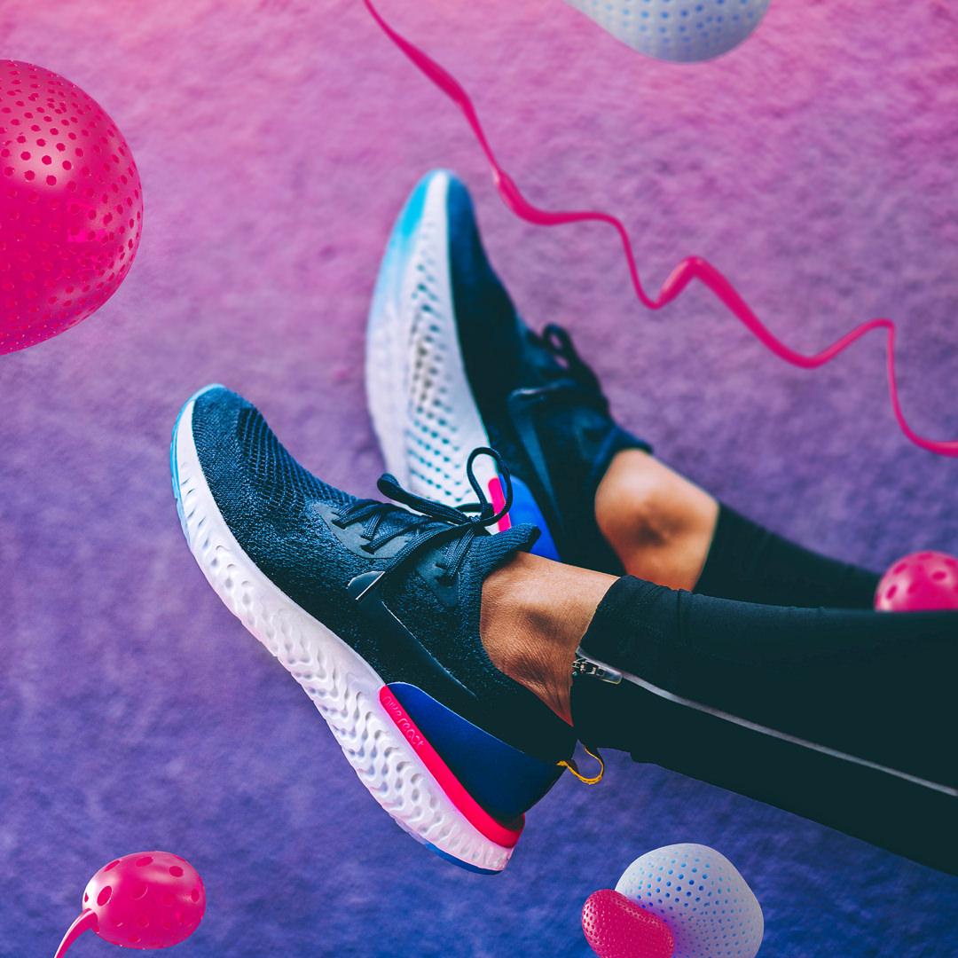 design-motion-3d-photography-octane-redshift-art-visual-animation-render-style-graphic-digital-federicopicci-fubiz-nike-epicreact-shoe-digitalart-cgi-comfort-light-soft-pink-pop-shock
